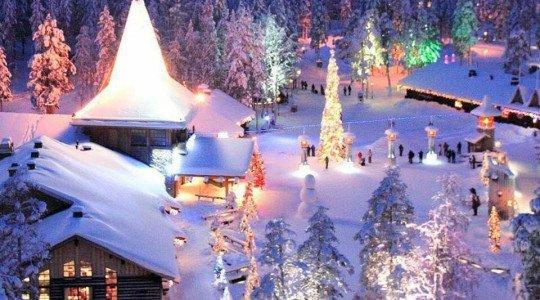 Noël en chez le père Noël